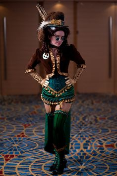 Steampunk Rogue by ~SuperBug87 on deviantART #cosplay #steampunk