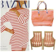 Parallel Perspective - our Riviera striped bag in the national blog of The Scout Guide
