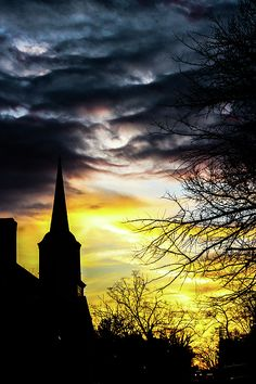Jonesborough is a town in, and the county seat of, Washington County, Tennessee, in the southeastern United States. Shadow Silhouette, Old Churches, Lisa, Clouds, Sunset, Wall Art, Bats, Silhouettes, Shadows