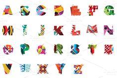 Colourful Type Set | Folkore by visualfreaks on Creative Market