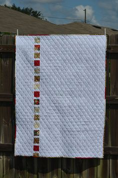 Christmas Quilt Back by J Taylor Quilts
