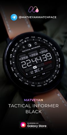 Stylish Watches, Luxury Watches, Cool Watches, Watches For Men, Samsung Galaxy S, Digital Watch Face, Smartwatch, Gear S3, Watch Faces