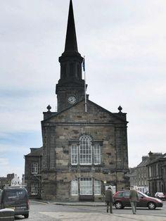 Scotland-April 2008 /Town Hall, Haddington