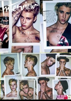 Justin Bieber​ looks super serious as he pulls back his shirt in this exclusive first look photo from his cover feature for Interview magazine's August 2015 issue. Pictures > https://www.thecelebarchive.net/ca/gallery.asp?folder=/justin%20bieber/&c=1