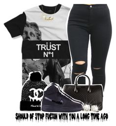 """""""12-23-14 Dont copy my set"""" by no-flex-zone ❤ liked on Polyvore featuring Heist, Gucci, NIKE and Auriya"""