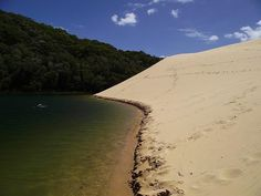 Fraser Island, Lake Wabby, Australia