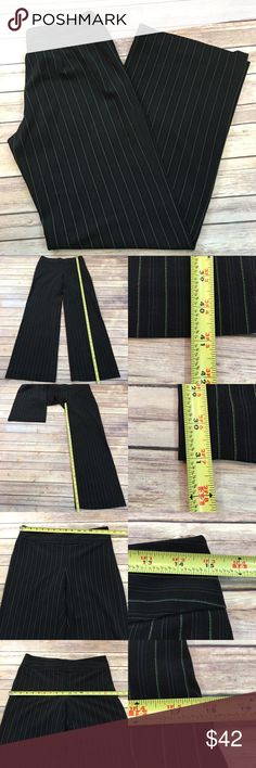 🌠Limited 6 Pinstriped Straight Cassidy Fit Pants Measurements are in photos. Normal wash wear, no flaws. C4/43  I do not comment to my buyers after purchases, due to their privacy. If you would like any reassurance after your purchase that I did receive your order, please feel free to comment on the listing and I will promptly respond.   I ship everyday and I always package safely. Thank you for shopping my closet! The Limited Pants Trousers