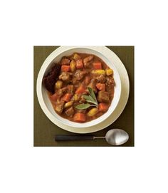 Warm up as temperatures drop with a bowl of one of these filling meals Pork & Cider Stew