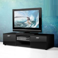 About being the furniture inside the house it is not only the black modern TV stand that can be the furniture which brings modern appearance to the house.