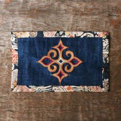 アイヌ刺繍の飾り布