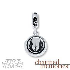 Charmed Memories Star Wars R2-D2 Sterling Silver Charm c72nXrv