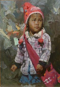 "Mian Situ (Chinese born American, 1953)   ""The Pose"""