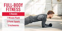 A quick, full-body fitness workout to help you get toned this season.