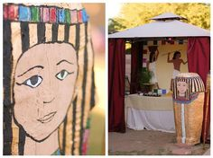 Egypt theme, very creative! Some great ideas that can easily be added on to.