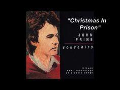 "John Prine - ""Christmas In Prison"" - YouTube Guitar Songs, Music Songs, Music Videos, Top 100 Songs, John Prine, Blue Umbrella, We Dont Talk, Old Trees, Bury"