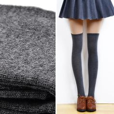 3a5c349b8 Women Sexy Thigh High Over The Knee Socks Long Cotton Stockings GY