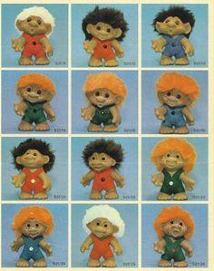 Articles. - www.damworld.dk Troll Dolls, Unique Image, Disney Cartoons, Gnomes, Elves, Vintage Toys, Childhood Memories, Old School, Teddy Bear