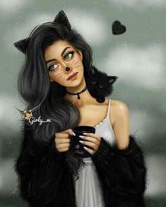 menina Gato