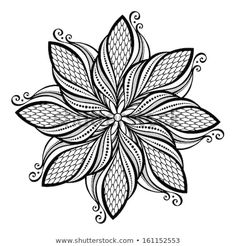Find Beautiful Deco Mandala Vector Patterned Design Stock Vectors And Millions Of Other