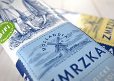 Hollandia Ice Cream — The Dieline | Packaging & Branding Design & Innovation News