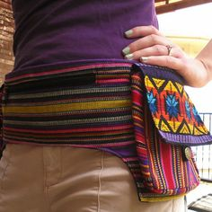 Guatemalan Hip Pack $24.95 via earthbound trading company