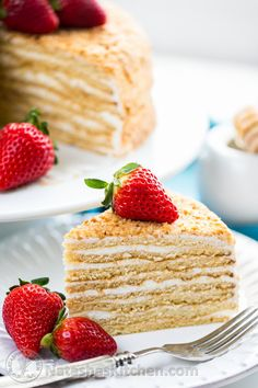 Master this amazingly soft Honey Cake with simple frosting (step-by-step photo tutorial!) Master this amazingly soft Honey Cake with simple frosting (step-by-step photo tutorial! Armenian Recipes, Ukrainian Recipes, Russian Recipes, Ukrainian Desserts, Ukrainian Food, Russian Foods, Armenian Food, Croatian Recipes, Hungarian Recipes