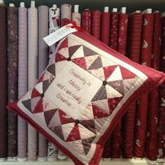 Creativity Cushion Guide - pattern by Kylie Irvine at Antique Angel Patchwork