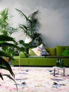 17 свежих интерьеров в цвете Greenery – Вдохновение