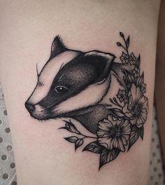 Rosie Roo badger  tattoo