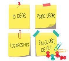 15 IDEAS PARA USAR LOS ®POST-ITS EN CLASE DE ELE | Profe-de-español.de