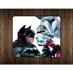 BATMAN HARLEY HERO AND THE VILLAIN MOUSE PADS