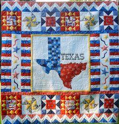 Quilters Crossing's Quilt Across Texas Quilt 2012