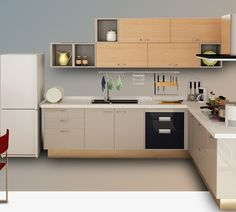 Stainless Steel Kitchen Cabinets, Home Decor, Kitchen Models, Decoration Home, Room Decor, Home Interior Design, Home Decoration, Interior Design