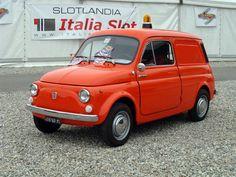 1969 Fiat 500 Furgoncino Delivery Van #fiat
