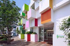 Sugamo Shinkin Bank Nakaaoki branch, Saitama, 2014 - emmanuelle moureaux architecture + design