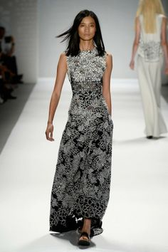 black and white 2014 Fashions   New York Fashion Week spring 2014: It's all there in black and white ...