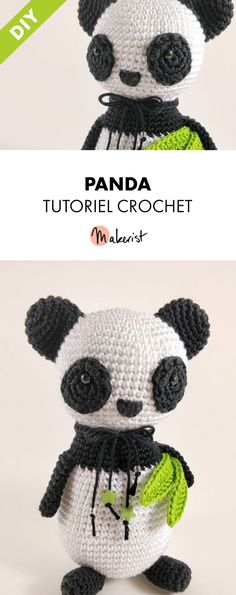 Doudou Panda - Tutoriel crochet PDF sur Makerist.fr  panday  doudoupanda   cute 278fcd460fd