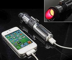 Darth Vader Lightsaber Portable Charger | DudeIWantThat.com