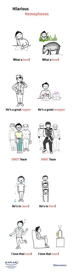 English is FUNtastic: Hilarious Homophones with Examples and Explanation...