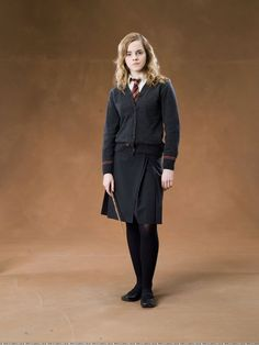 Hermione Granger in Gryffindor Uniform