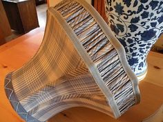 custom lampshades by Kathleen Mullaney