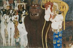 Gustav Klimt, Beethoven Frieze, 1902.