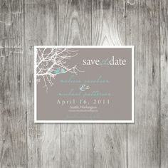 Sitting in a Tree Save the Date