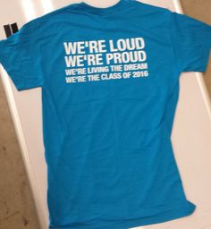 class of 2016 shirt sayings - Fairfield Class of 2016 Class Of 2018 Shirts, School Shirts, Senior Tshirts, Senior Gifts, Spirit Shirts, Class Of 2016, Senior Trip, Junior Year, Shirts With Sayings