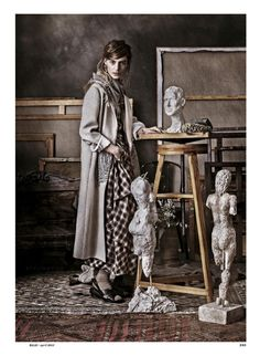 visual optimism; fashion editorials, shows, campaigns & more!: die neue boheme: renee meijer and gwen loos by carl bengtsson for elle germany april 2015