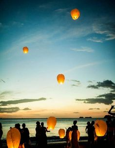 Take a look at the best boho beach wedding in the photos below and get ideas for your wedding! Boho beach wedding lantern release at sunset Image source Nothing like walking down this ethereal aisle. Boho Beach Wedding, Sunset Wedding, Trendy Wedding, Rustic Wedding, Destination Wedding, Dream Wedding, Night Beach Weddings, Wedding Reception, Romantic Beach