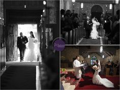 Plymouth Congregational Church in Coral Gables, Florida -- Miami -- Bride walking down the isle