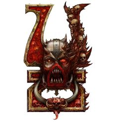 Warhammer 40000,warhammer40000, warhammer40k, warhammer 40k, ваха, сорокотысячник,фэндомы,khorne,Chaos (Wh 40000)