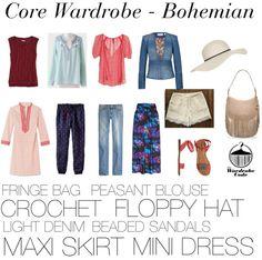 Core Wardrobe: Bohemian Style