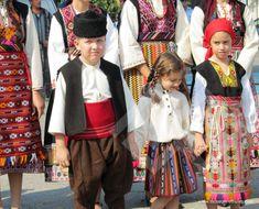 Традиционни детски носии Елхово